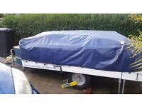 Trailer tent used twice 4 berth with cooker / sink etc