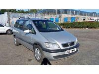 2003 (53 Reg) Vauxhall Zafira 2.0 DTi 16v Design 5dr £595 12 Months Mot on Sale & 3 Months Warranty