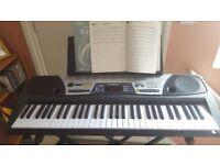 Yamaha Portable Keyboard EZ-150 easy to use with many features and functions.