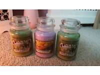 New Yankee candles