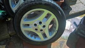 LAND ROVER FREELANDER 17 INCH EVOLUTION ALLOY WHEEL WITH TYRE