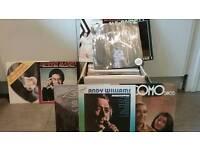 100 VINYL ALBUMS 60's/70s eg COMO, BASSEY, REEVES, SOUNDTRACKS etc.