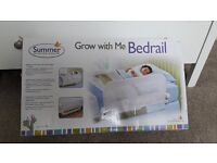 """SUMMER GROW WITH ME"" WHITE SINGLE BEDRAIL"
