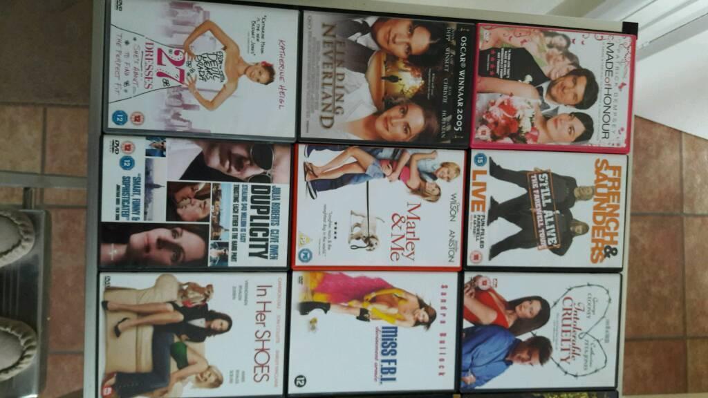 34 Various DVD's