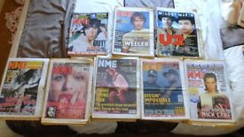 COLLECTION OF NME'S AND A FEW MELODY MAKERS FROM BRITPOP ERA 90 ODD MAGS