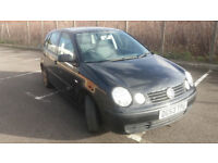 2003(53)VW POLO 1.4 S 5DR BLACK,LOW MILES,NEW MOT,CLEAN CAR