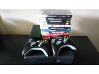 Xbox 360 250gb Console and 12 Games