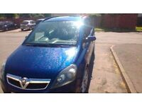 2007, VAUXHALL ZAFIRA, 7 SEATER, 1.6 LIFE,NEW 12 MONTH M.O.T,,, SEVEN SEATER, PART EX POSS,BARGAIN