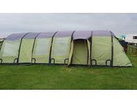 Tent + Camping job lot + trailer