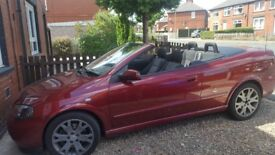 Astra convertible 2.0 litre turbo