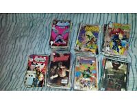 Comic Collection Including First Issues. Marvel/DC. Spiderman, Punisher, X Files etc