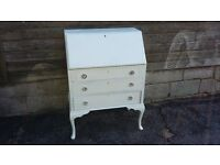 Vintage Painted Shabby Chic Bureau Desk EAST HOATHLY COLLECTION