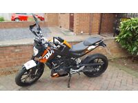 KTM Duke 125cc - 2013 - Low Mileage