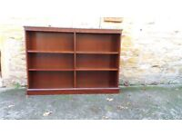 Mahogany Bookcase with adjustable shelves with or without Encyclopedia Britanicas.