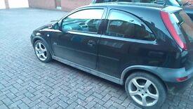 Vauxhall Corsa 1.2 Petrol 2003 3dr 1 year MOT