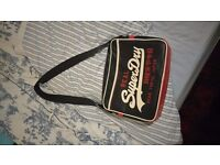 Mens superdry record bag, only used twice