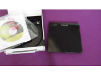 SAMSUNG ULTRA THIN DVD WRITER. BOXED FOR CD/DVD ETC NEW OTHER