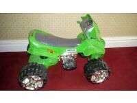 Ben 10 Quad. Perfect condition. Used 3 times.
