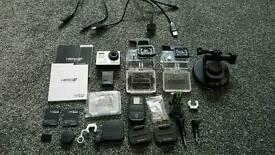 Gopro Hero 3+ Black and accessories