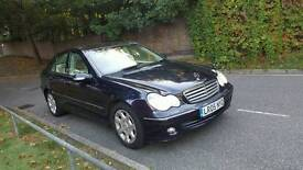 2005 MERCEDES C220 CDI..MOT..SERVICE HISTORY..VERY GOOD ENGINE AND GEARBOX..HPI CLEAR