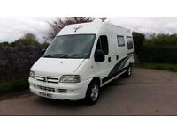 citroen relay campervan / motorhome 2004 2 berth