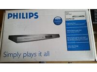 PHILIPS ULTRA SLIM DVD PLAYER NEVER USED STILL UNOPENED IN BOX