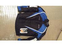 motorcyle jacket BRAND NEW size large BARGAIN !
