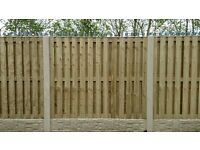 6ftx5ft Pressure Treated & Tanilized Double Sided Fence Panels -------£22-------