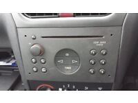 Vauxhall car radio - with code
