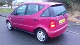 Mercedes Benz A CLASS. Will swap for T4 alloys,interior or rock n roll bed!