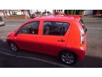 Daihatsu sirion perfect first car new clutch and wish bone tax and mot