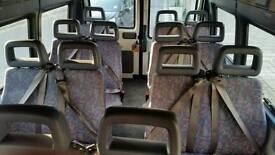 CLEAN Van seats (triple, double, single, LDV brand)