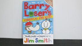 Barry Loser's - Christmas - Joke Book