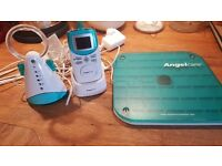 Angel care sound and movment baby monitor