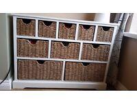Cottage Ivory 10 Drawer Sideboard