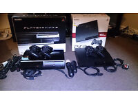 2 x ps3 and 45 games