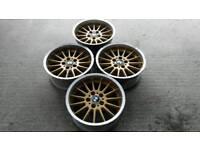 "Alloy wheels bmw style 32 17"" for vw t5 vivaro traffic"