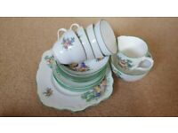 Vintage Foley English Bone China Tea Set