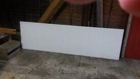 8 foot Single Central Heating Radiator