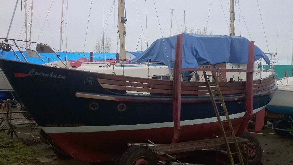 FISHER NORTHEASTER MOTORSAILOR £29950 reduced to SELL!