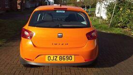 Immaculate Orange SEAT Ibiza
