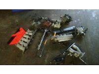 Genuine joblot Lexus gs300 auto gearbox bumper lights manifolds abs pump motors doors stereo