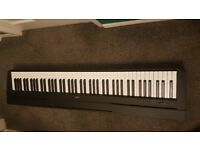 Yamaha P-45 electric Piano with power adapter, pedal and music rest