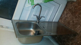 SINK WITH MIXER TAP FOR SALE