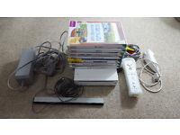 Nintendo Wii KIDS Bundle NICE SET UP 7 Games SPORTS PLAY 1 controller & Nunchuck