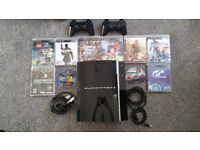 PS3 80Gb Hardly Used