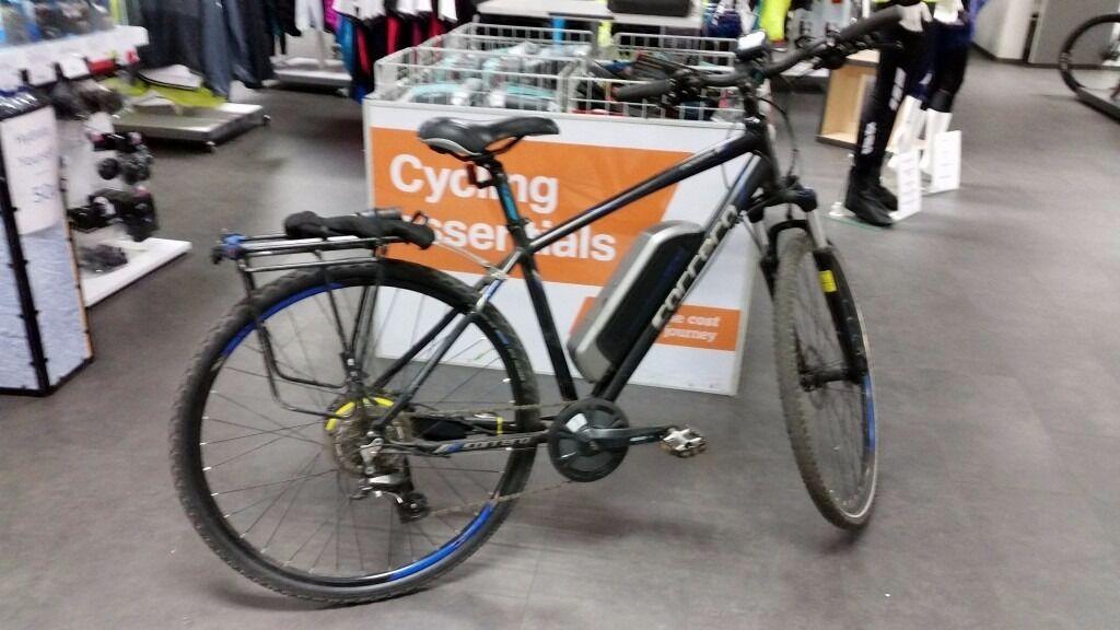 Carrera Crossfire E Mens Electric Bike For Sale In Slaithwaite