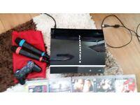 Sony Playstation 3, 160 GB Piano black console
