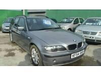 BMW 320 ESTATE DUAL PURPOSE VEHICLE