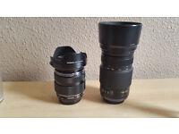 Olympus M.Zuiko 12-40mm f2.8 and Panasonic Lumix 100-300mm f4-5.6